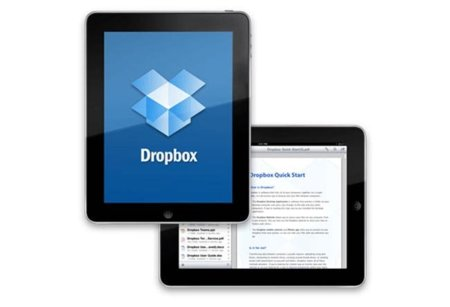 iPad y DropBox