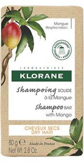 KLORANE Champú sólido nutritivo en barra con mango para cabellos secos