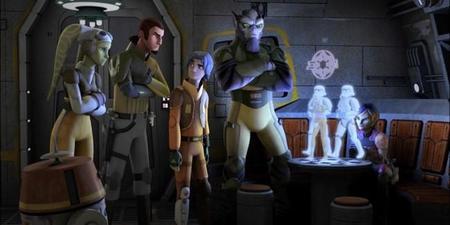 Star Wars Rebels continúa la épica y legendaria tradición de la saga Star Wars