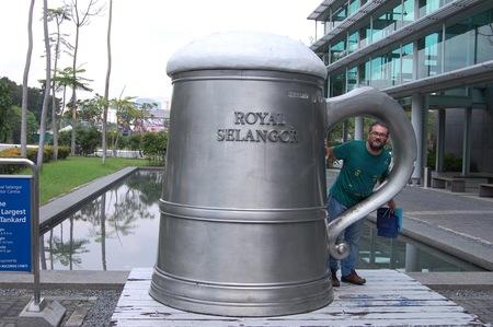 Visitando Malasia Royal Selangor