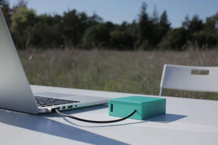 Las baterías externas para portátiles también existen: BatteryBox, 12.000 mAh. para Macbook