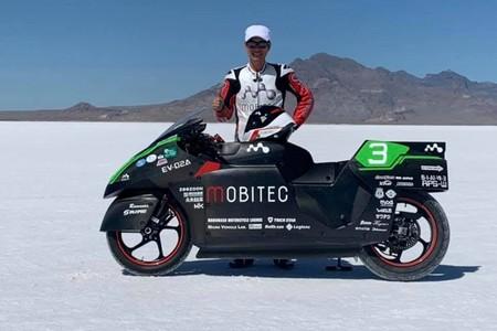 Record Moto Electrica Velocidad 1