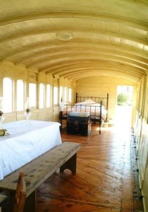 Casas poco convencionales: un vagón de tren en Norfolk