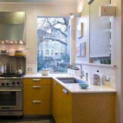Foto 5 de 10 de la galería puertas-abiertas-una-cocina-amplia-y-funcional en Decoesfera