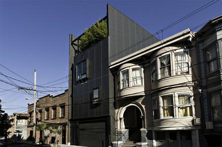 Puertas abiertas: una casa de varias alturas en San Francisco