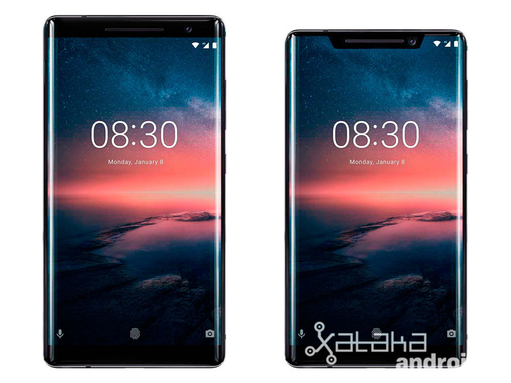 Nokia ocho Sirocco Notch