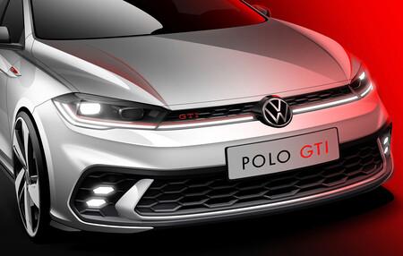 Volkswagen Polo GTI 2021, primeros bocetos