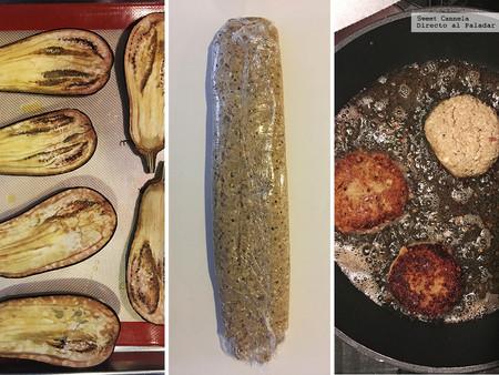 Tortitas de Berenjena y Papa