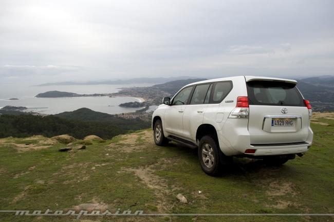 Aventura 4x4 Toyota en Galicia