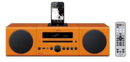 Yamaha MCR-B142, base despertador colorida y potente