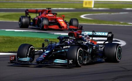 Hamilton Leclerc Silverstone F1 2021