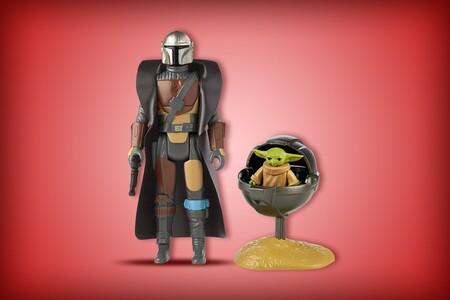 Increíble figura retro de 'The Mandalorian' disponible en Amazon México: un homenaje a los juguetes de Star Wars los años setenta
