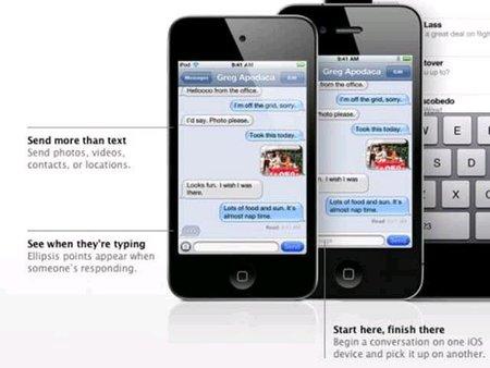 iMessage, la nueva herramienta de comunicación de iOS 5