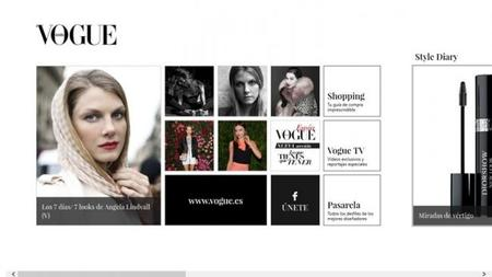 Vogue Spain para Windows 8