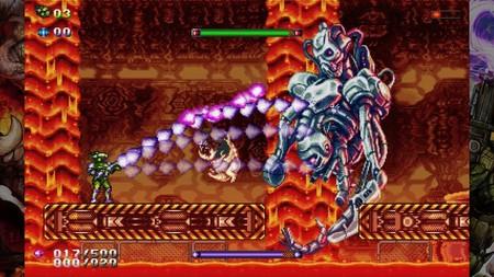 Una versión hipervitaminada de Gunlord saldrá este mes en Nintendo Switch, para regocijo de los fans de Turrican