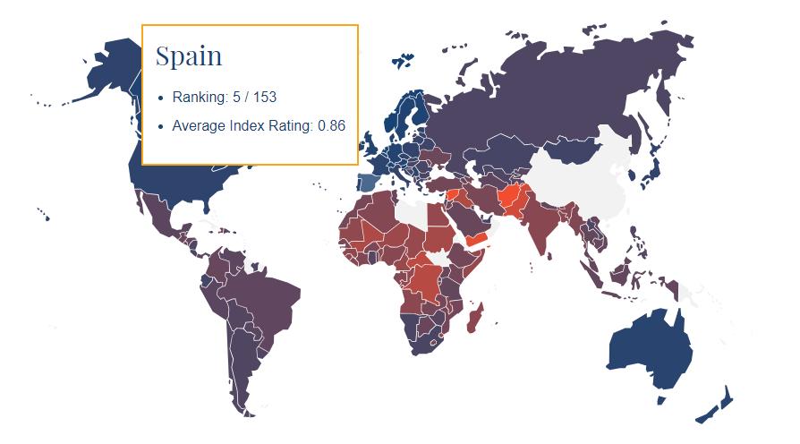 España el quinto mejor país del mundo para nacer mujer