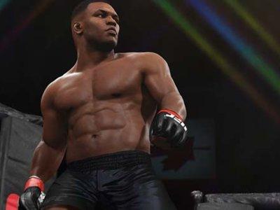 Mike Tyson llega de manera sorpresiva a UFC 2