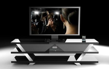 Soundvision SV-1600, sistema de sonido oculto en un mueble