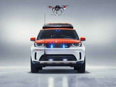 El nuevo Land Rover Discovery Project Hero incorpora un dron en el techo, pero no es para jugar