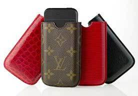 Fundas de Louis Vuitton para iPod e iPhone