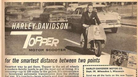 Harley-Davidson ya tuvo un scooter en los '60, y podría volver ahora como una moto eléctrica del siglo XXI
