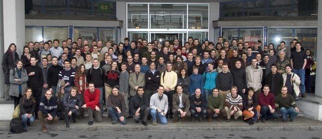 Miembros de la comunidad científica, en un congreso en el CERN
