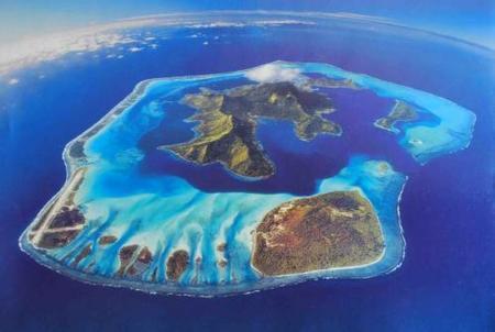 Blue Heaven Island, una isla privada en venta en Bora Bora, Polinesia francesa