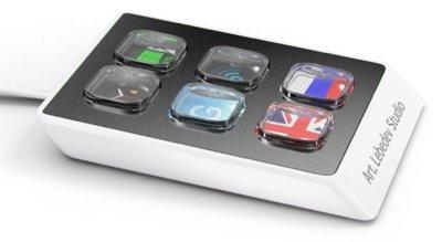 Optimus Mini Six de Art. Lebedev, con seis teclas OLED
