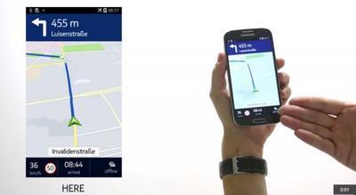 Nokia Here llega para los smartphone Samsung de gama alta