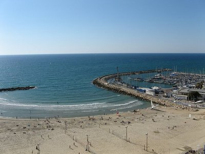 Ocio para todos en el puerto de Tel Aviv