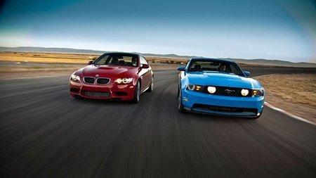 BMW M3 Coupe vs 2011 Ford Mustang GT: ¿quién ganará?