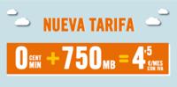 Happy Móvil sigue completando su oferta, ahora con 750 megas por 4.5 euros