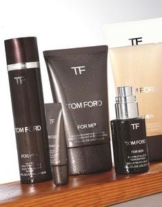 La cosmética masculina de Tom Ford ya se deja ver