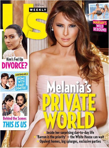 La señora de ese tal Trump