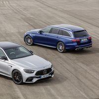 El Mercedes-AMG E 63 4MATIC+ se renueva: brutalidad en formato berlina o familiar con hasta 621 CV