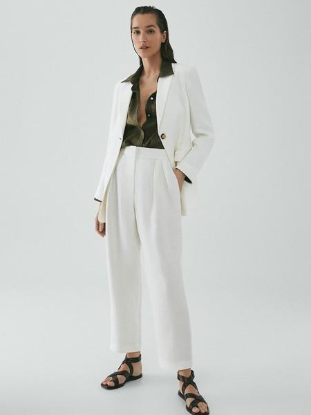 Pantalon Recto Lino Limited Edition