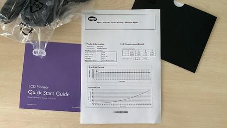 Hoja de Calibración Monitor BenQ