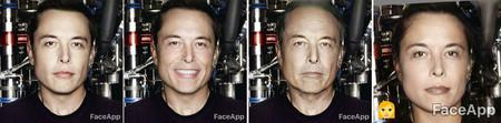 Faceapp Musk