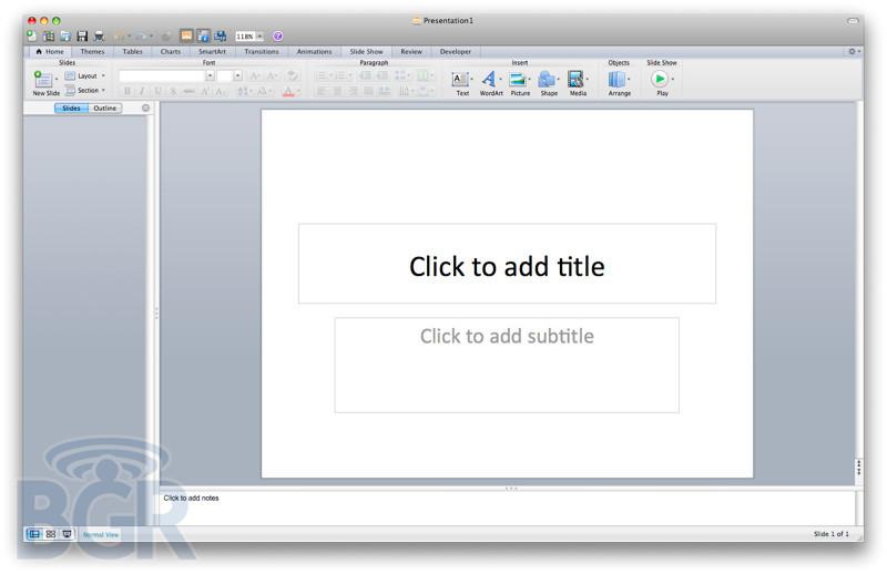 Foto de Primeras imágenes Office 2011 para Mac (7/7)