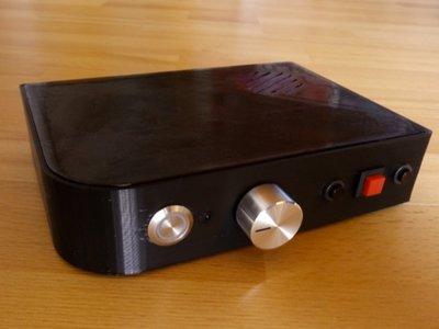 Probablemente esta es la caja que querrás imprimir para la Raspberry Pi y tener un reproductor musical a medida