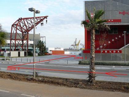 Así está el circuito urbano de Valencia