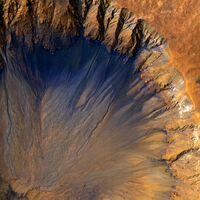 """Marte lleva """"desangrándose"""" miles de millones de años en un lento proceso que lo ha convertido en una piedra fría y desértica"""
