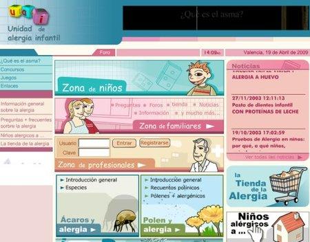 Alergia Infantil La Fe, web para conocerlo todo sobre la alergia