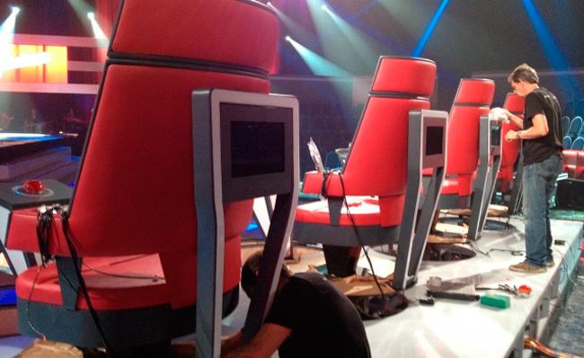 Sillas 'The Voice' Telecinco