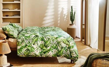 Textiles tropicales y muebles de ratán una combinación que triunfa en Zara Home