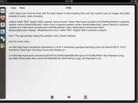 dPad, el editor HTML para bloggers con un iPad