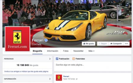 Ferrari, a juicio tras supuestamente apropiarse de la página de Facebook creada por un fan
