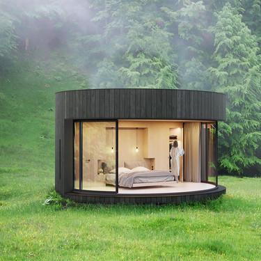LumiPod, la cabaña ultra moderna que todos quisiéramos tener en el jardín de la casa