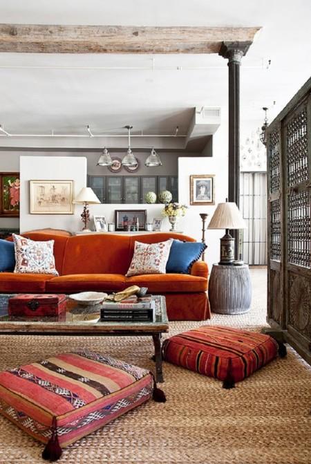 ¡Pon un kilim en tu vida! 5 ideas para integrarlo en tu decoración