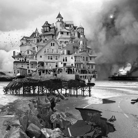 El arquitecto se volvió loco, fotografías de Jim Kazanjian